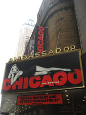 Chicago The Musical Ambassador Theater